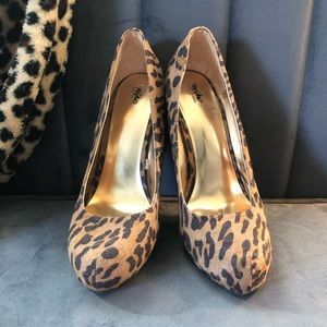 Cheetah Print Stilletos